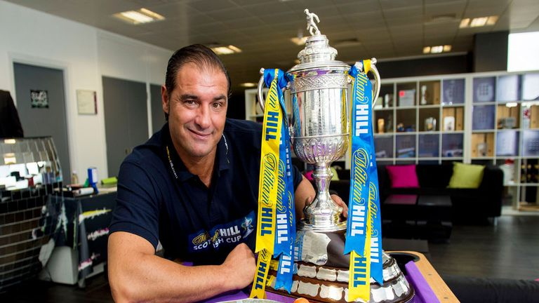 Amoruso: Scottish Cup 'a big target for Rangers'