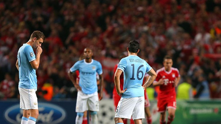 Man City hoping to bounce back in Russia after their Bayern mauling