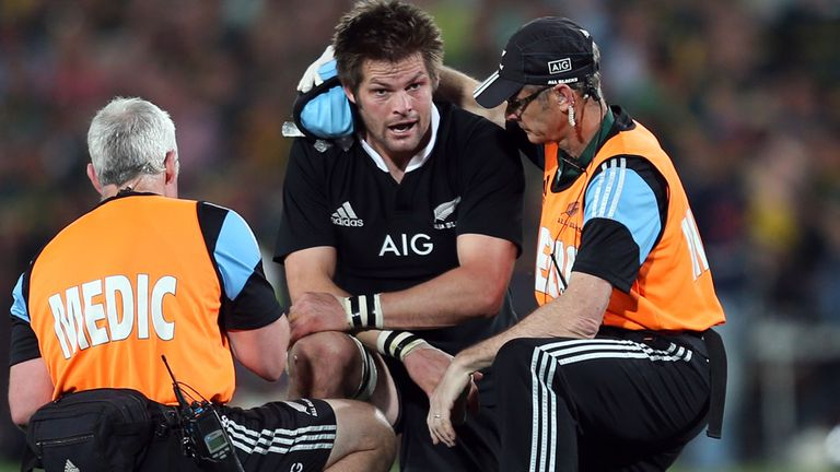 Richie McCaw: Misses Australia game through injury
