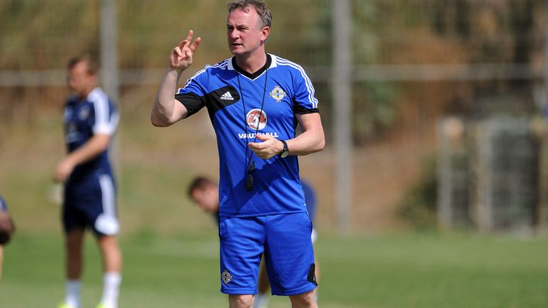 Michael O'Neill: Hoping to guide Northern Ireland to a major tournament