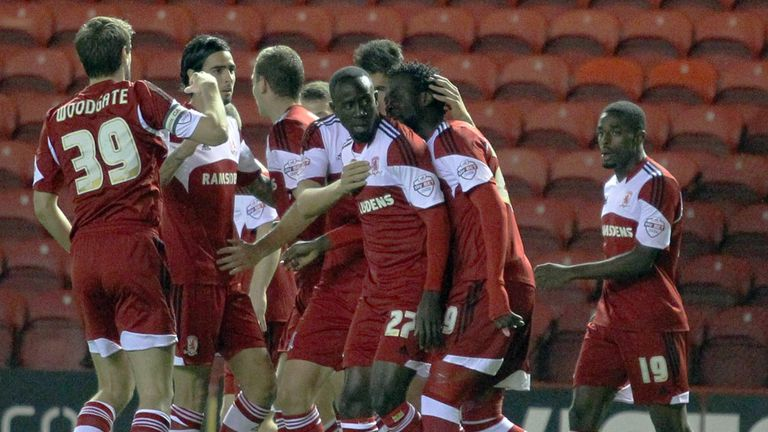 Albert Adomah: Netted the opener for Boro at The Riverside