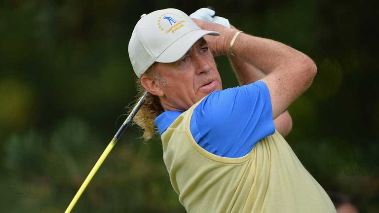 Miguel Angel Jimenez: Aiming to become Europe's oldest Ryder Cup player
