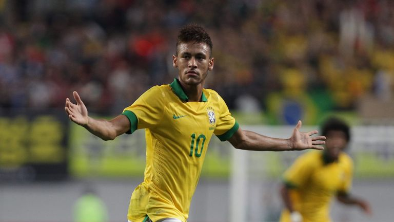 Neymar: Targeting World Cup glory