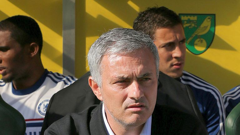 Jose Mourinho: Says he had to take risks in Chelsea's 3-1 win at Norwich