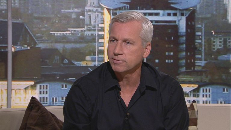 Alan Pardew: Newcastle boss was a guest on Goals on Sunday