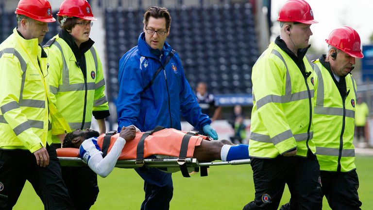 Rabiu Ibrahim: Kilmarnock man released from hospital