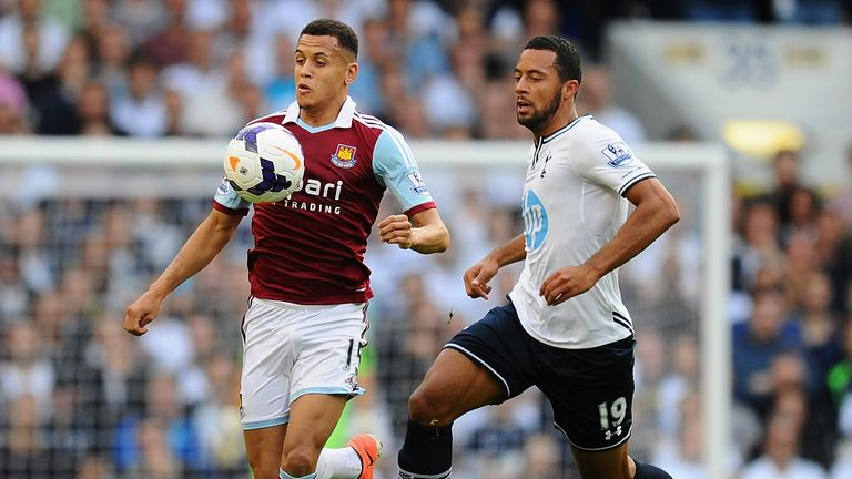 West Ham emerged 3-0 winners from their London derby against Tottenham