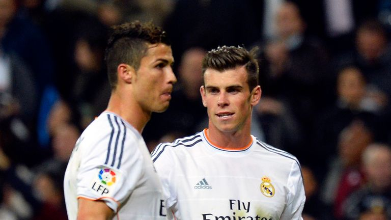 Cristiano Ronaldo and Gareth Bale: Inspired Real Madrid to victory
