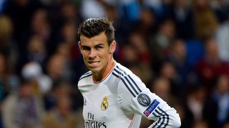 Gareth Bale: May start at the Nou Camp