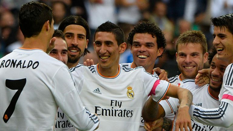 Angel Di Maria: Preferred to Mesut Ozil by Real Madrid coach Carlo Ancelotti
