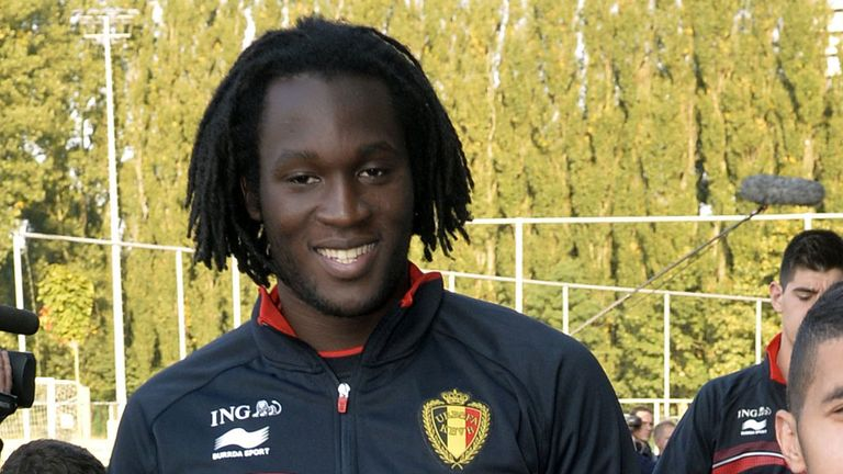 Romelu Lukaku is on international duty this week
