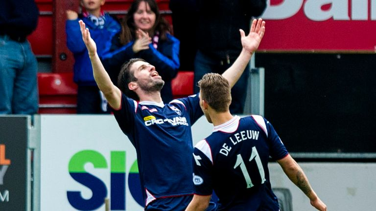 Rocco Quinn (left): Ross County must be mentally prepared for the final four games