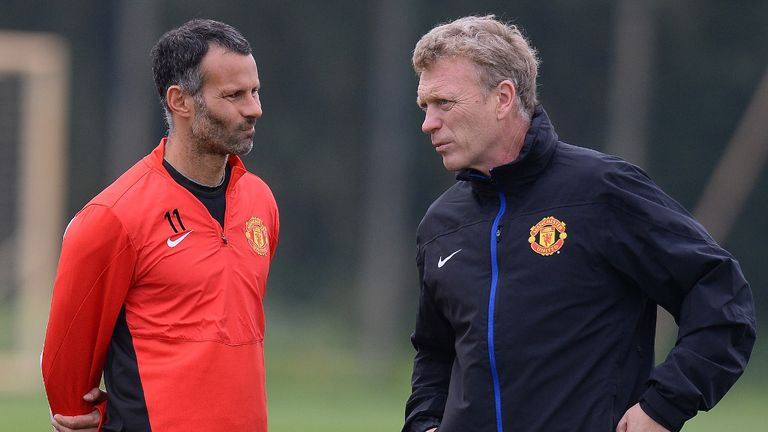 Ryan Giggs: No fall out with David Moyes