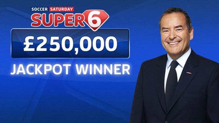 Super 6: £250,000 jackpot won by Burnley fan Ed Houghton before the international break