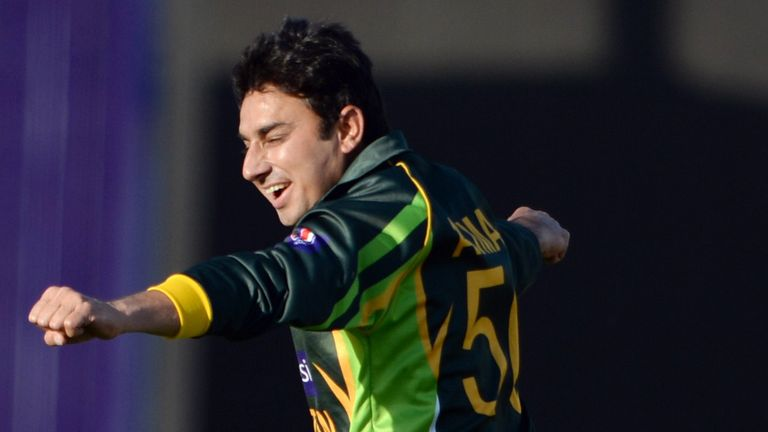Saeed Ajmal: Back for Pakistan after being rested for the match against Afghanistan