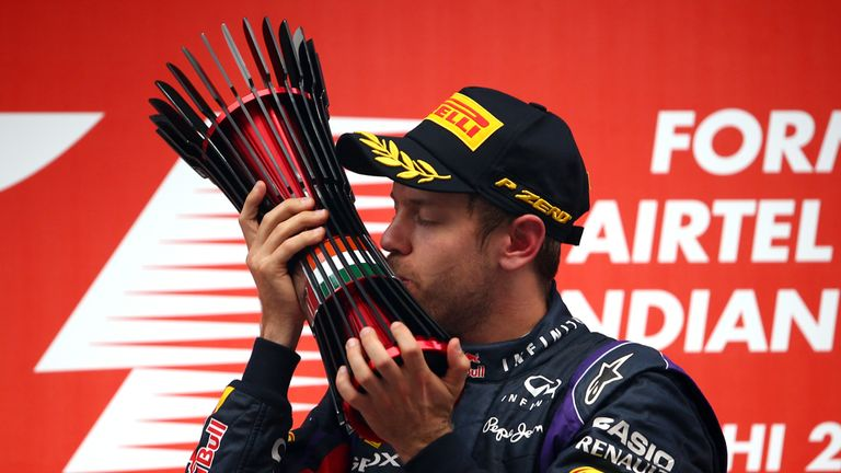 Sebastian Vettel: Won his fourth drivers championship in fine style in India