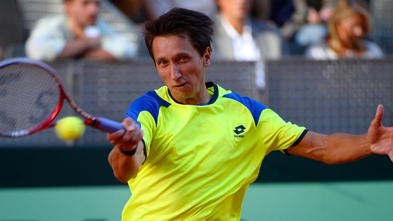 Sergiy Stakhovsky: Through to second round of Kremlin Cup after beating Joao Sousa