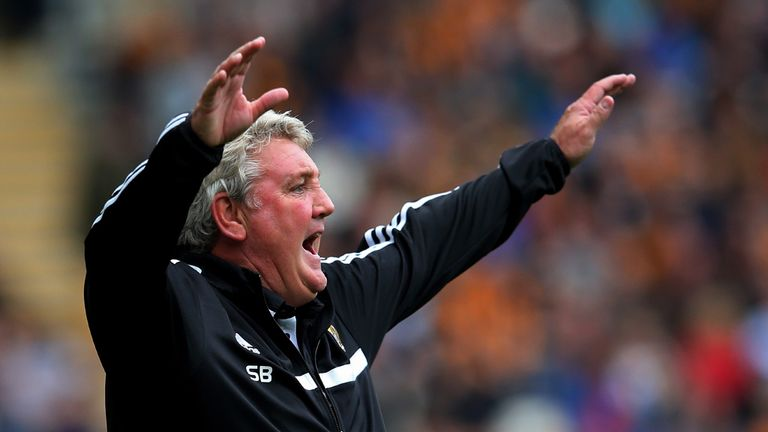 Steve Bruce: Hull City boss could not understand the penalty given to Tottenham