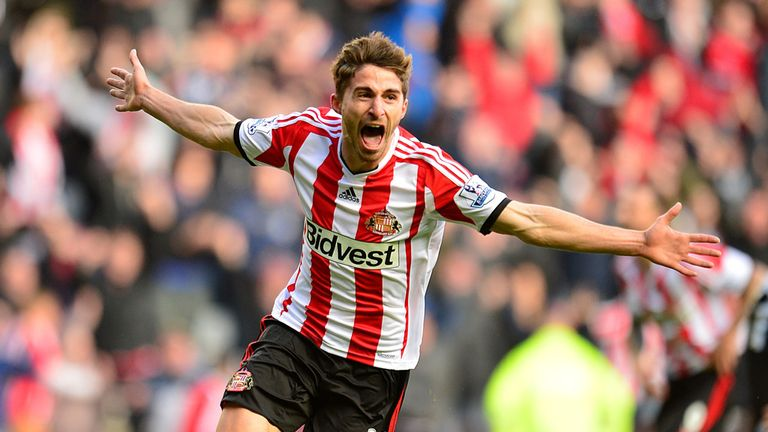 Fab-ulous: Borini was Sunderland's hero in the North East derby