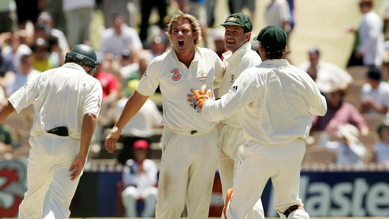 Shane Warne spun Australia to Ashes victory in Adelaide in 2006/07