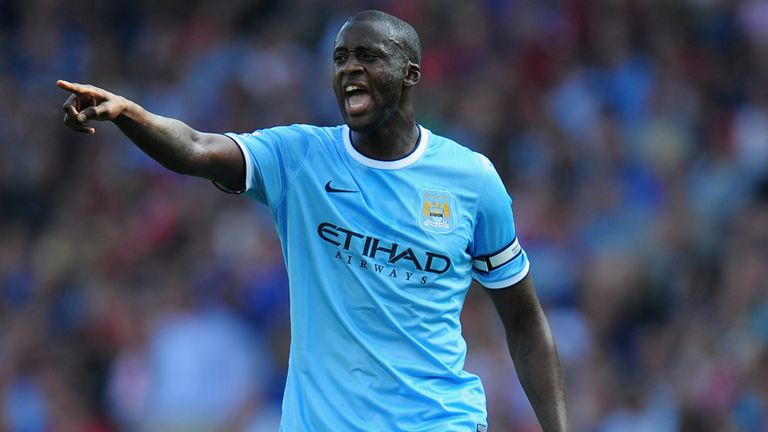 Yaya Toure: Feels Manchester United will find it difficult to challenge for crown