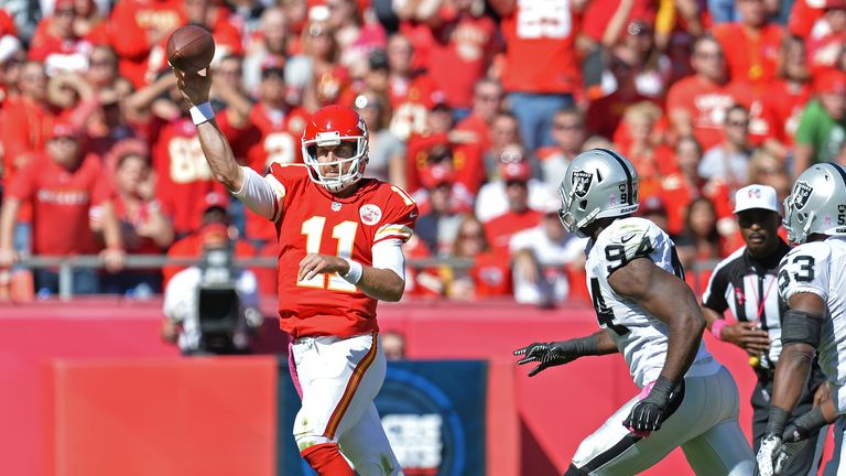Alex Smith: Kansas City Chiefs quarterback maintained perfect record this season