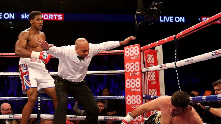 Anthony Joshua is eager to build on his first round stoppage of Emanuele Leo