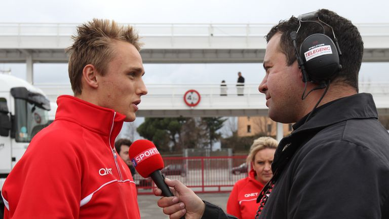 Max Chilton: Says he deserves an F1 seat in 2014