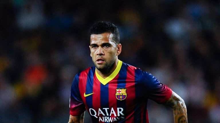 Dani Alves: Plans to see out his playing days back in Brazil