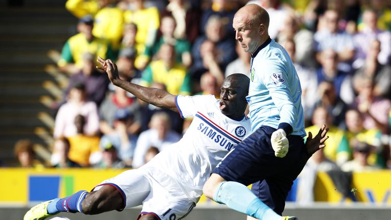 Demba Ba: a strong perfomance by the Chelsea striker