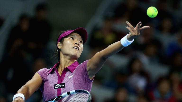 Li Na: Aiming to win in front of home fans in China