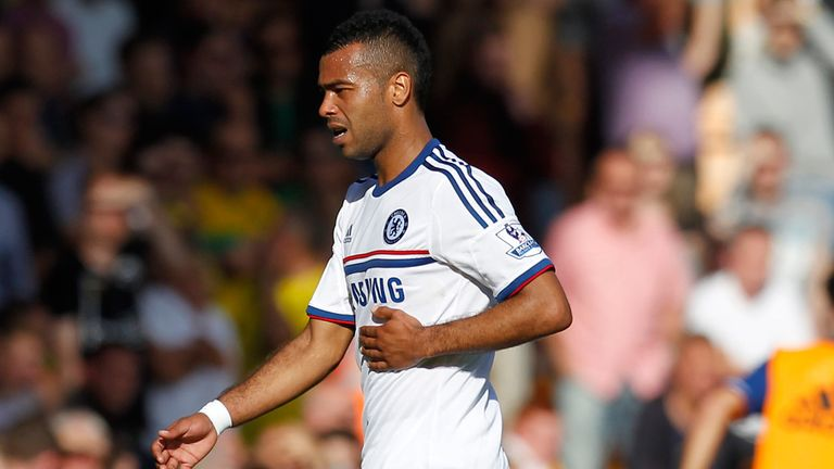 Ashley Cole: Picked up a rib injury at Norwich last weekend