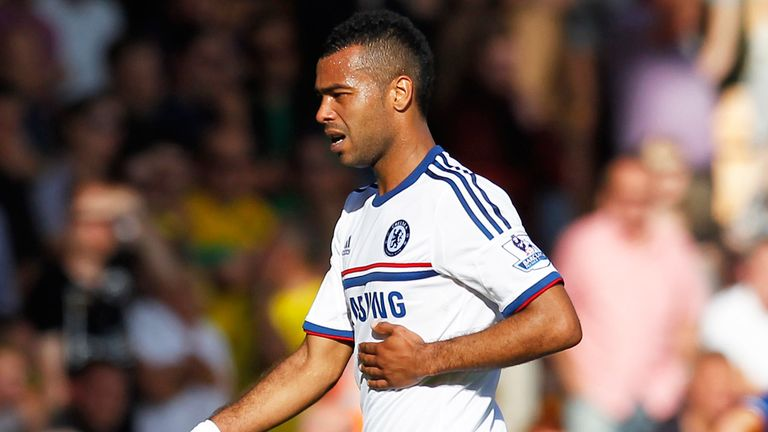Ashley Cole: Ruled out of Chelsea's trip to play Schalke