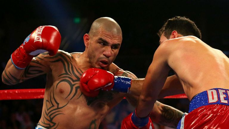 Miguel Cotto: Stopped Delvin Rodriguez in third round