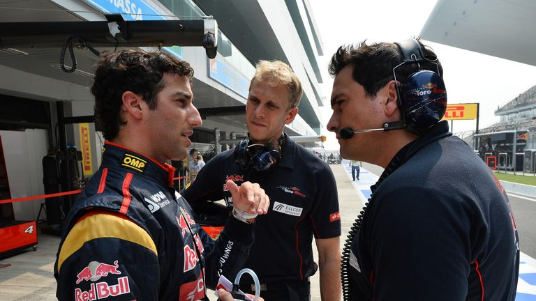 Daniel Ricciardo: Looking forward to comparison with Sebastian Vettel