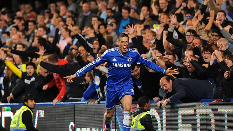 Fernando Torres: Chelsea striker in fine form under Jose Mourinho