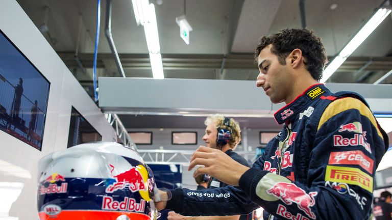 Daniel Ricciardo: Left feeling hard done by