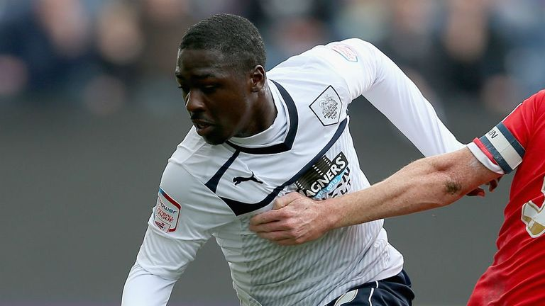 Jeffrey Monakana: Has impressed since joining Colchester on loan from Preston