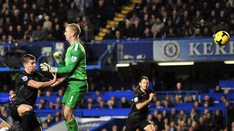 Joe Hart: At fault for Chelsea's winning goal, says Graeme Souness