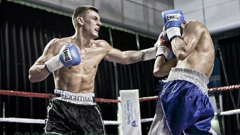 Leigh Wood (L): Gets a shot at vacant British title (Pic Colin Messom)
