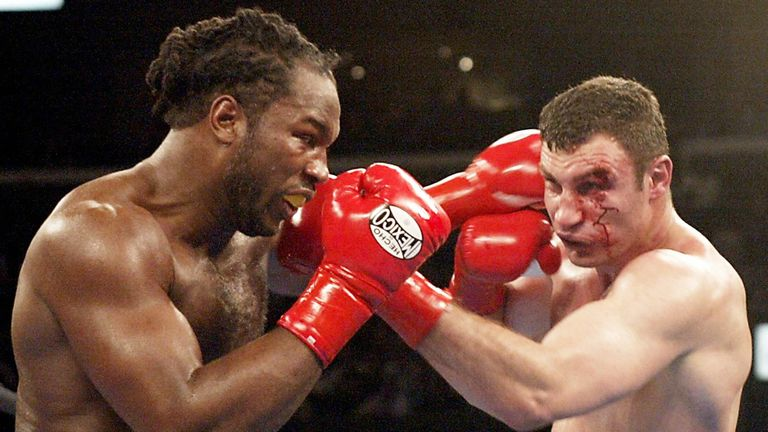 Lennox Lewis: Took to Twitter to dismiss speculation surrounding a return to the ring