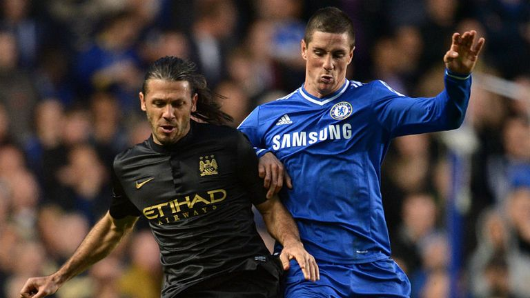 Martin Demichelis: Made his Manchester City bow against Chelsea on Sunday