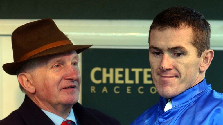 Martin Pipe and Tony McCoy 'back in the day'