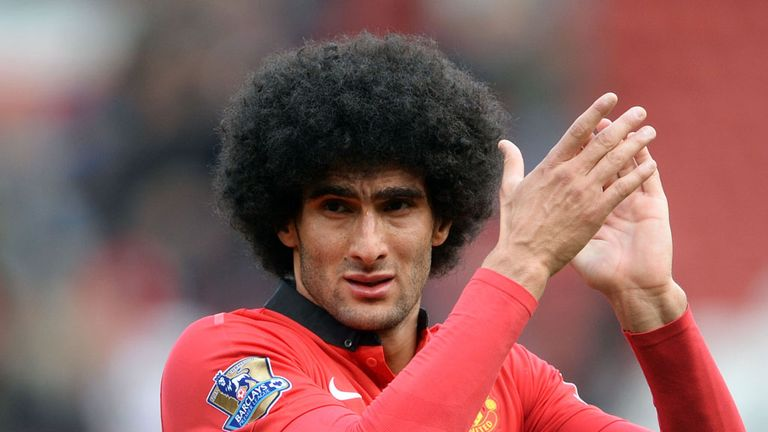 Marouane Fellaini: Set to be out for six weeks