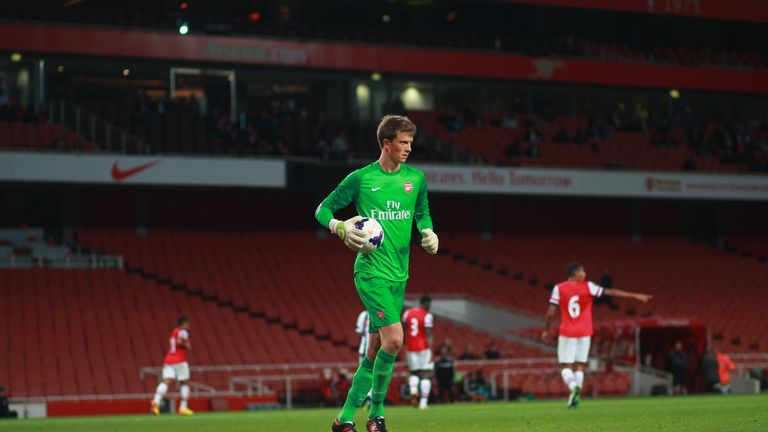 Matt Macey: Set for move to Arsenal (Picture courtesy of Kieren Clarke - Flickr.com/GoonerPower