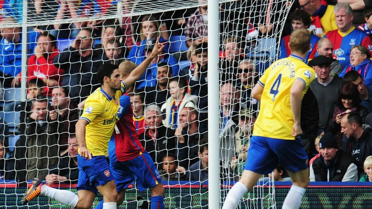 Mikel Arteta: Opened the scoring, but was later sent-off