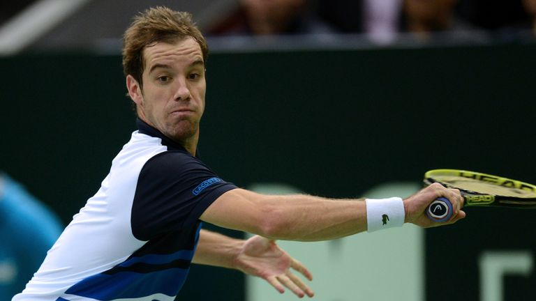 Richard Gasquet: Frenchman converted both break points he created during win against Ivo Karlovic