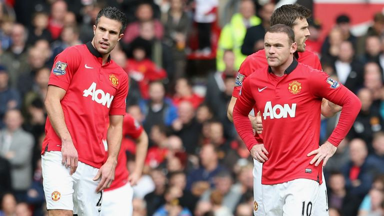 Robin van Persie and Wayne Rooney: key to United's hopes
