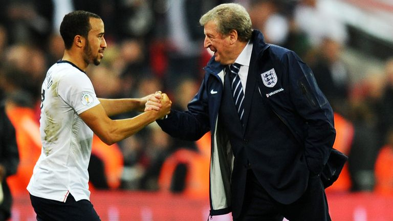 Andros Townsend and Roy Hodgson: At centre of 'space monkey' media storm