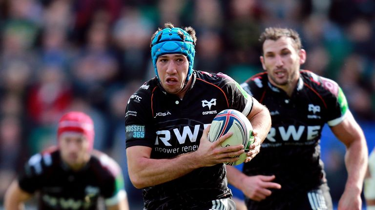 Ospreys back-row Justin Tipuric returns from Wales duty